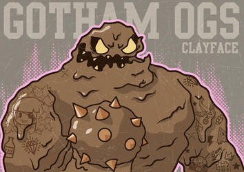 Gotham OGs: Clayface by ExoesqueletoDV