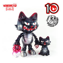 StickUp Monsters X ToysREvil's Wananeko set by ExoesqueletoDV