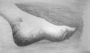 Foot Study by AdventedOne