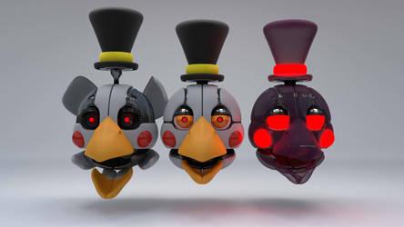 fnaf oc The Bird by MendigoDasGalactas