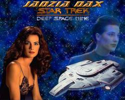 Jadzia Dax Wallpaper One by fantacmet