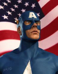 Captain America by Bobbyliauw