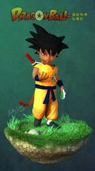Dragon Ball 'Goku View 2' by Bobbyliauw