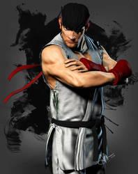 Ryu 'Street Fighter' by Bobbyliauw