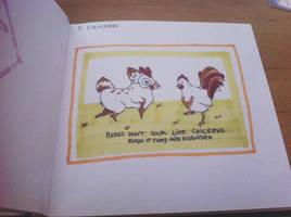 Pinktober - 5 Chicken by Nenril-Tf