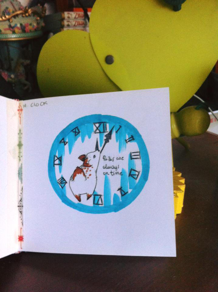 Pinktober - 14 Clock by Nenril-Tf