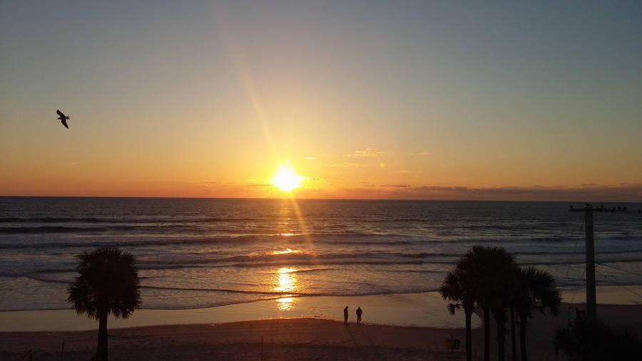 another Daytona sunrise by HippieVan57