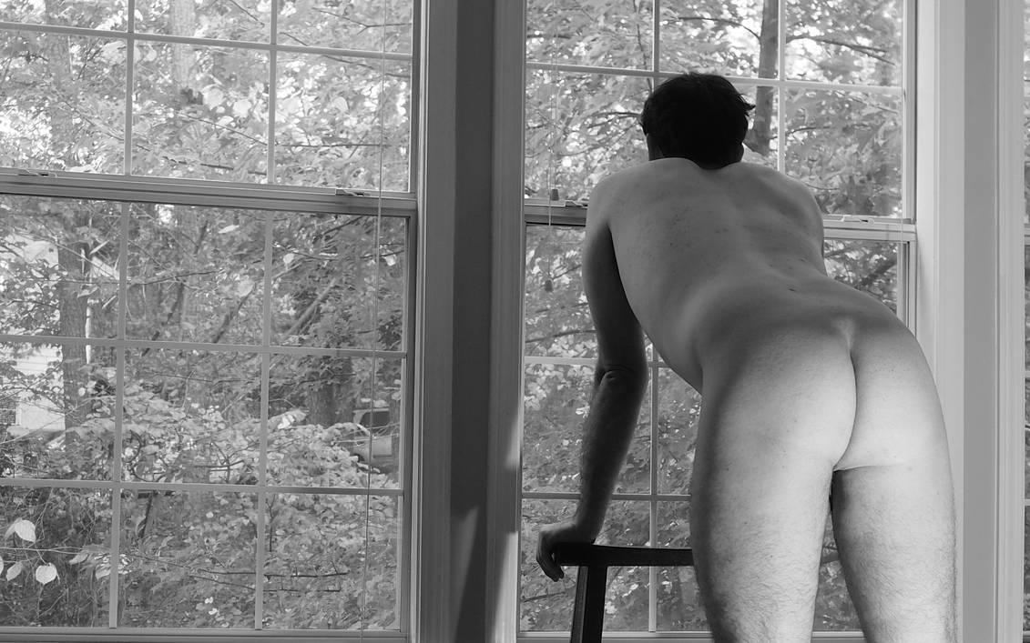 Looking out the window by MatthewsNakedArt