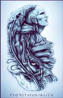 Prometheus/Alien WIP by ZachSmithson