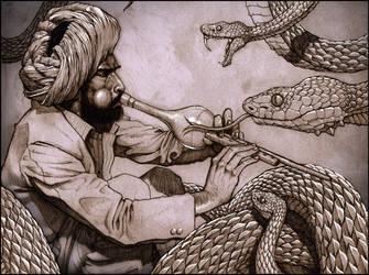 The Snake Charmer by ZachSmithson