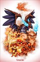 Pokemon Go: Valor by ZachSmithson
