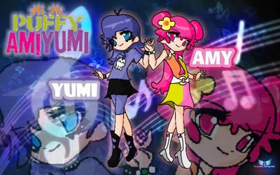 Hi - hi puffy   AMI  YUMI by FerzyPPGD