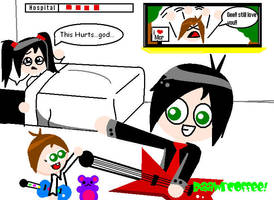 Gerard And Bandit by RaawrCoffee