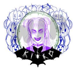 Kiko Halloween WIP by Kikomazumi