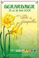 Affiche jonquilles 1st style by jypdesign
