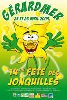 Affiche jonquilles 2nd style by jypdesign