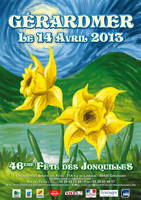 Affiche Jonquilles 2013 - 1re proposition by jypdesign