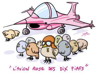 Avion Rose by jypdesign