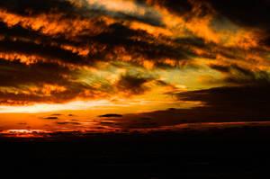 Stormy Sunset by wondertowander