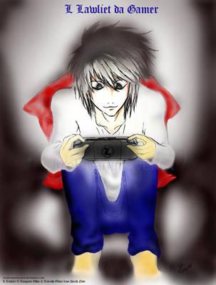 L Plays PSP by IrrelevantMaverick