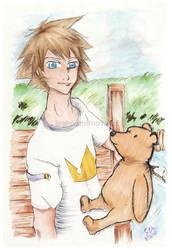 Days of Pooh n Sora by IrrelevantMaverick