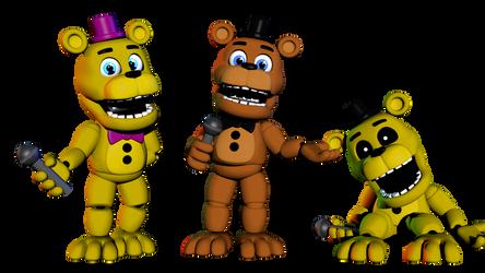 Adventure Freddy's by WierdSpyder