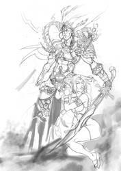 Random Sketch2 by haribon