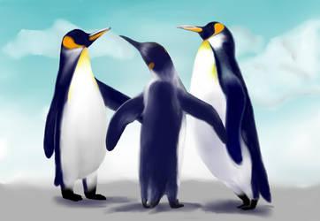 Penguin by pseudologoi999