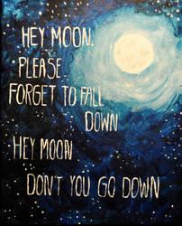 Hey moon by Overseen