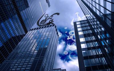 Skyscraper by mc-cool