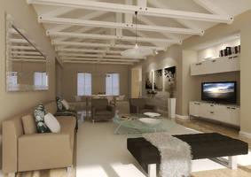 Apartment Interior by idontwanna