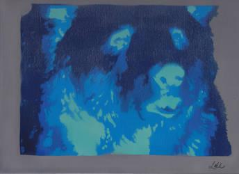 Bear Canvas by Vinyl-Hex