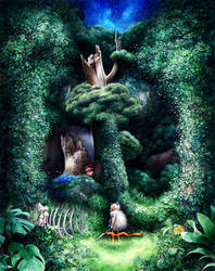 Princess Mononoke. by SandraInk