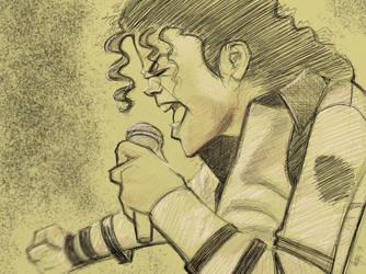 Michael Jackson Caricature by Varjus