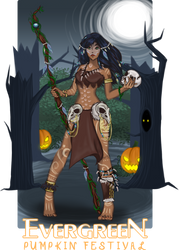 Witch Doctor / Shaman by Ridralee