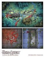 Heroquest Tiles by Panperkin