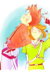 Happy Birthday Yams!!! [Lloyd x Link] by Hotaro-sui