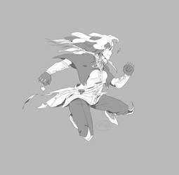 Leap Girl by Winter-Wisp
