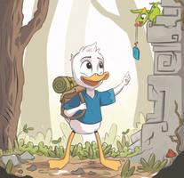 Ducktales Dewey by ioanin