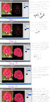 Rose Creation Tutorial by hpatps1