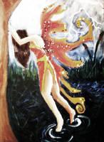 The Autumn Fairy by Sjlvermay