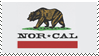 Nor Cal Stamp by MLZ