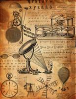Steampunk-Collage01 by endlessdeep