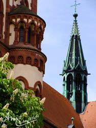 Turm der Herz-Jesu-Kirche - Freiburg by Artist2Be84