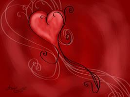 Heart Swirl by Artist2Be84