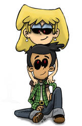 Ghoul Bobby and Lori by OasisCommander51