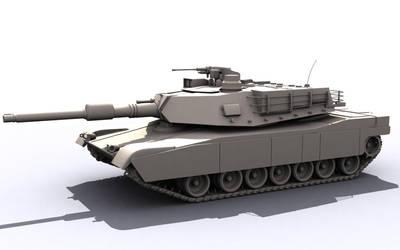 M1A2 Abrams Tank by aytekaman