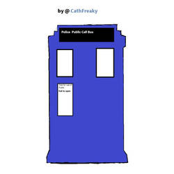 Doctor Who - Tardis by CathFreaky