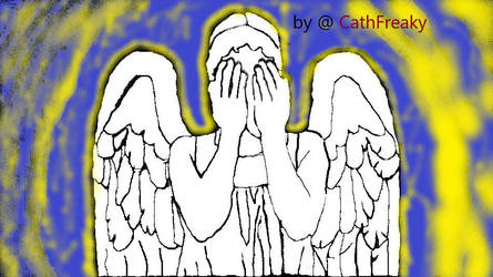 Doctor Who - Weeping Angels - Fav Creature from DW by CathFreaky