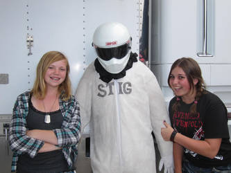 meeting the stig by Copperwulf